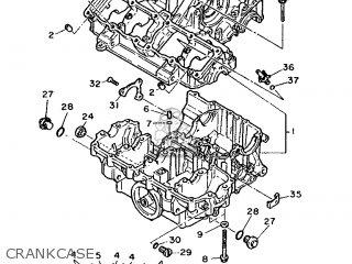 Yamaha Fzr1000 1988 3fe1 Austria 283fe-362e1 parts list