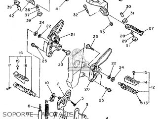 Yamaha FZR1000 1989 3GM2 SPAIN 293GM-352S1 parts lists and
