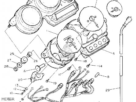Yamaha FZR1000 1992 (N) USA parts lists and schematics