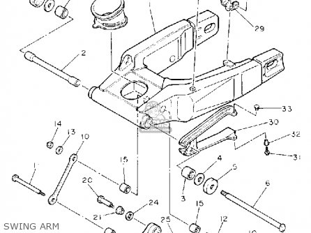 Yamaha Fzr1000 1992 (n) Usa parts list partsmanual partsfiche