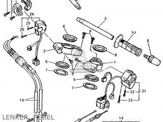 Yamaha FZR1000 1995 3LE7 GERMANY 253LE-332G1 parts lists