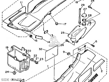 Yamaha FZR1000C 1987 GENESIS CALIFORNIA parts lists and