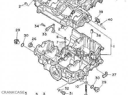 Yamaha FZR1000C 1994 (R) CALIFORNIA parts lists and schematics