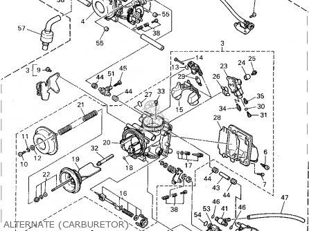 Yamaha Fzr1000c 1995 (s) California parts list partsmanual