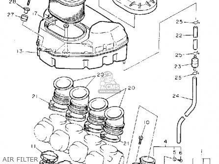 Yamaha Fzr1000d 1992 parts list partsmanual partsfiche