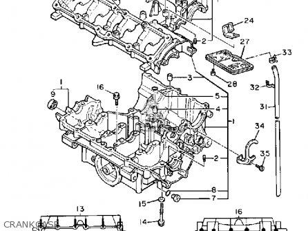 Yamaha Fzr400 Genesis 1989 (k) Usa parts list partsmanual