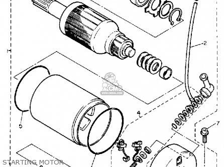 Yamaha FZR400 GENESIS 1990 (L) USA parts lists and schematics