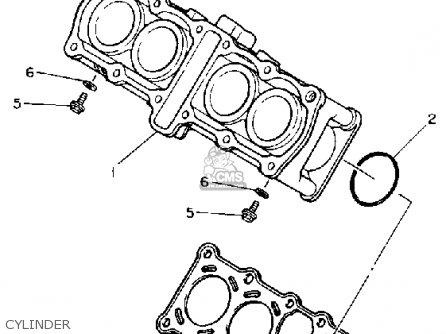 Yamaha Fzr400sac 1990 parts list partsmanual partsfiche