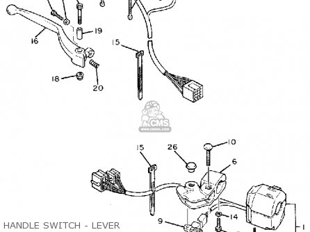 Yamaha FZR400SC GENESIS 1989 (K) USA parts lists and