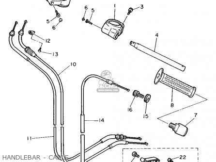 Yamaha FZR600 1989 (K) USA parts lists and schematics