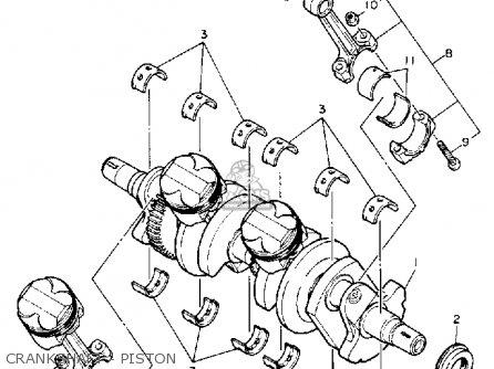 Yamaha Fzr600r 1992 (n) Usa parts list partsmanual partsfiche
