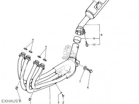 Yamaha FZR600R 1993 (P) USA parts lists and schematics