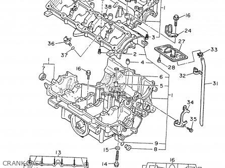 Yamaha Fzr600r 1996 (t) Usa parts list partsmanual partsfiche