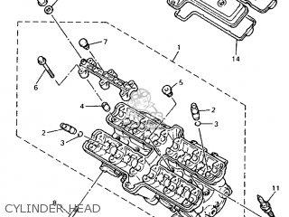Yamaha Fzr600r (72.1kw 1995 4jh6 Germany 254jh-332g2 parts