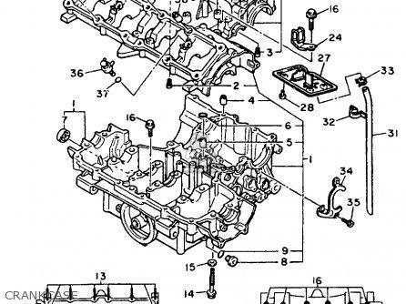 Yamaha FZR600R FZR600RC 1998 (W) USA CALIFORNIA parts