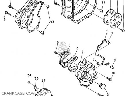 Yamaha Fzr600rc 1991 (m) California parts list partsmanual