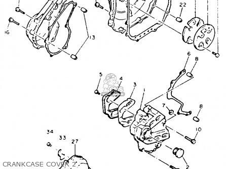 Yamaha Fzr600rdc 1992 parts list partsmanual partsfiche