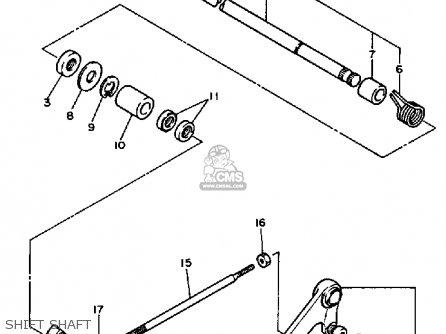 Yamaha Fzr750r 1987 Usa parts list partsmanual partsfiche