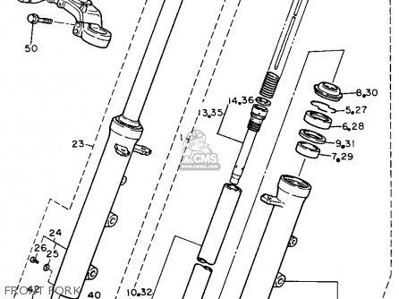 Yamaha Fzr750r 1988 (j) Usa parts list partsmanual partsfiche