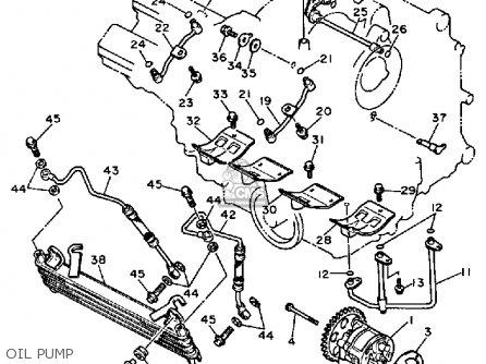 Yamaha Fzr750rt 1987 parts list partsmanual partsfiche