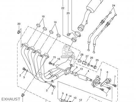 Yamaha FZS1000 FZS1000C 2002 (2) USA CALIFORNIA parts