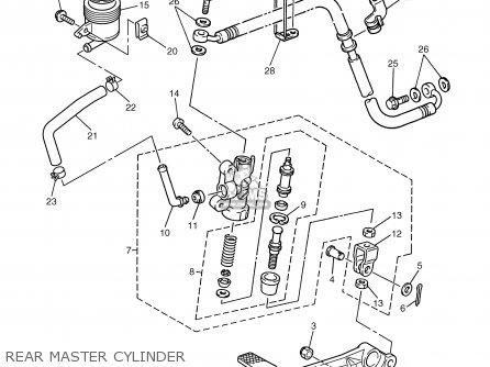 Yamaha Fzs1000 Fzs1000c 2002 (2) Usa California parts list
