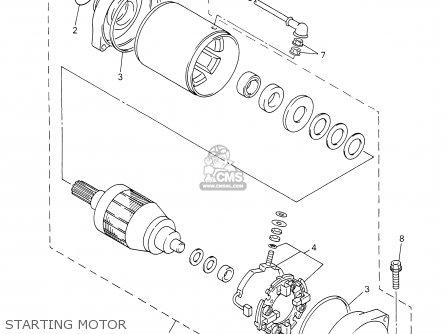 Yamaha Fzs1000r/rc 2003 parts list partsmanual partsfiche