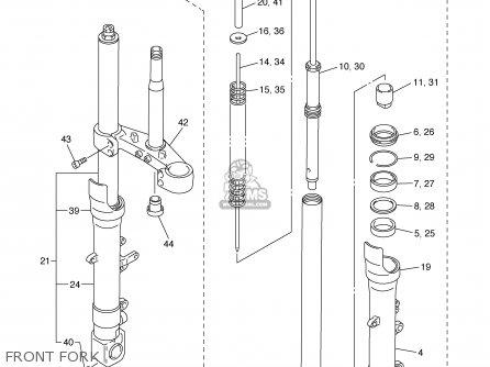 Yamaha Fzs1000spr/sprc 2003 parts list partsmanual partsfiche