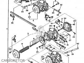 Yamaha FZX750 1987 2JE FRANCE 272JE-351F1 parts lists and