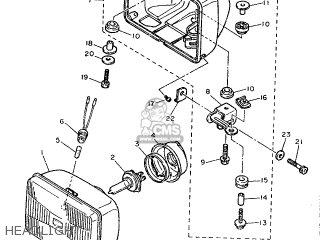 Yamaha Fzx750 1987 2je Germany 272je-332g1 parts list
