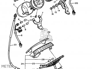 Yamaha Fzx750 1991 4am1 France 214am-351f1 parts list
