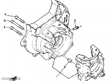 Yamaha G1-A G1-A1 GOLF CAR 1979-1980 parts lists and