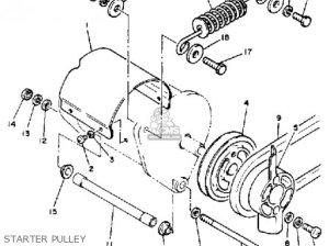 Yamaha G1a G1a1 Golf Car 19791980 parts list