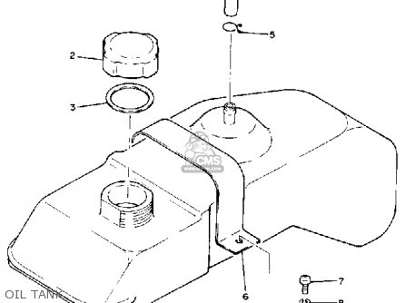 Yamaha G1-a2 1981 parts list partsmanual partsfiche