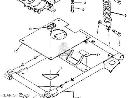 Yamaha G1-A2 GOLF CAR 1981 parts lists and schematics