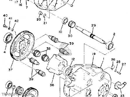 Yamaha G1-a3 1982 parts list partsmanual partsfiche