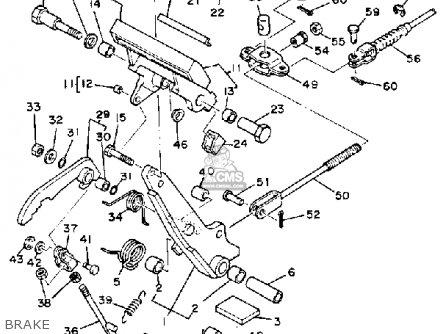 Yamaha G1-a3 Golf Car 1982 parts list partsmanual partsfiche