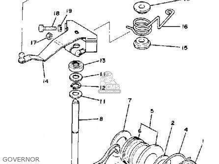 Yamaha G1-A3 GOLF CAR 1982 parts lists and schematics