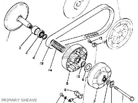 Yamaha G1-a/g1-a1 1979-1980 parts list partsmanual partsfiche