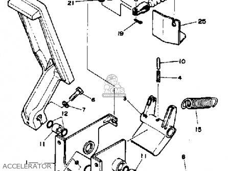 Yamaha G1-am4 1984 parts list partsmanual partsfiche