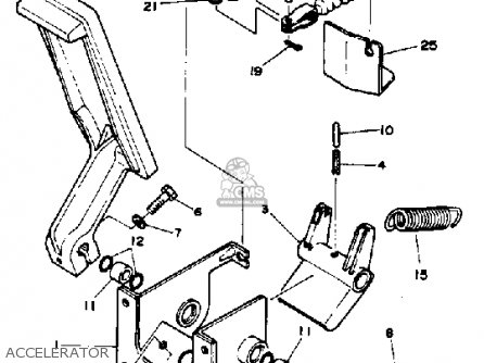Yamaha G1-am4 Golf Car 1984 parts list partsmanual partsfiche
