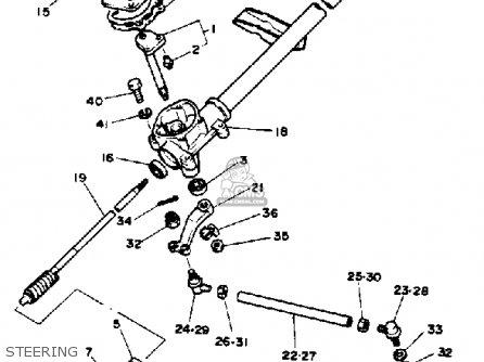 Yamaha G1-AM4 GOLF CAR 1984 parts lists and schematics