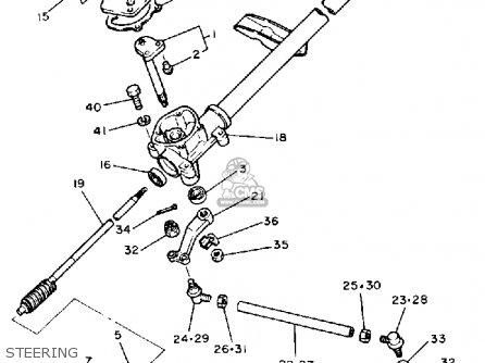 Yamaha G1-AM5 GOLF CAR 1985-1986 parts lists and schematics