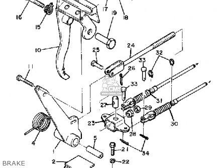 Yamaha G1-E2 GOLF CAR 1981 parts lists and schematics