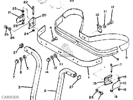 Yamaha G1-EM5 GOLF CAR 1985 parts lists and schematics