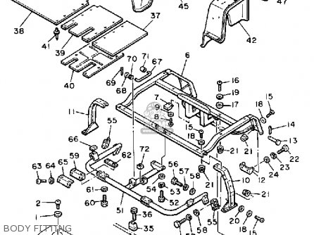 Yamaha G1-EM6 GOLF CAR 1986 parts lists and schematics