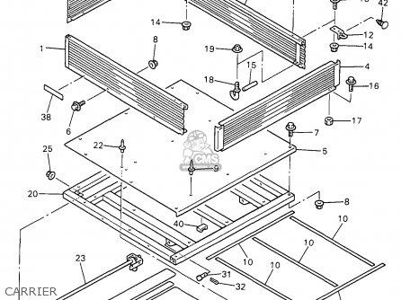Yamaha G11-ap 1996 parts list partsmanual partsfiche