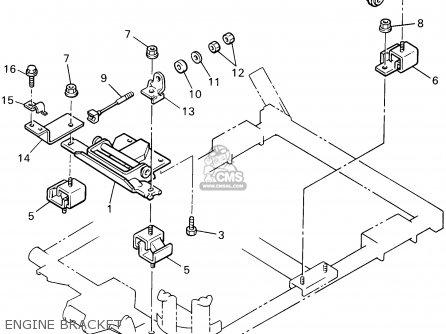 Yamaha G14-AM 1995 parts lists and schematics
