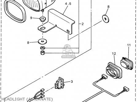 Yamaha G14-am 1995 parts list partsmanual partsfiche