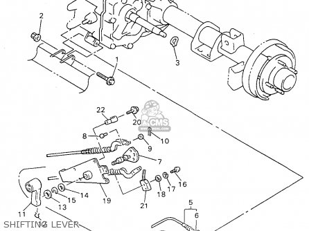 Yamaha G14 Front Suspension, Yamaha, Free Engine Image For
